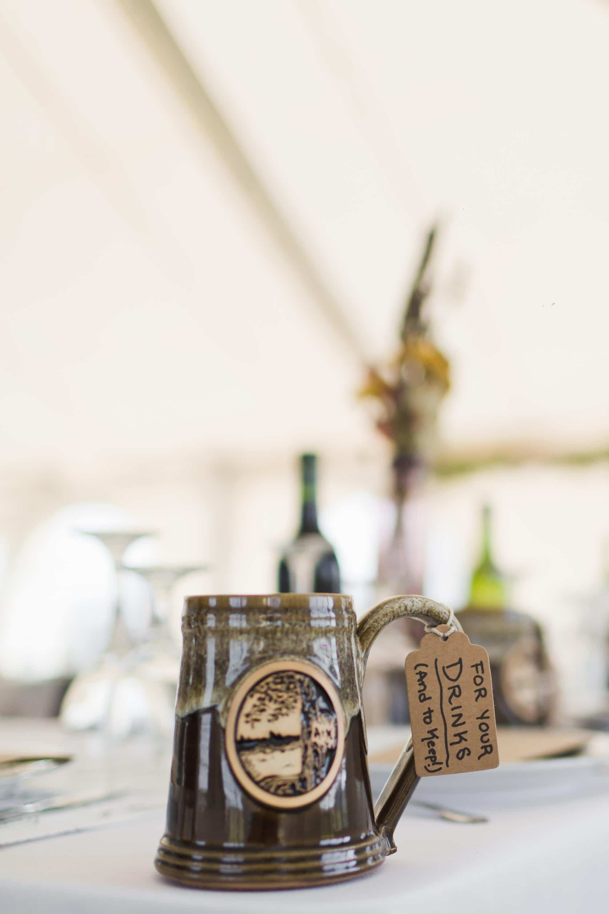 Custom Wedding Steins for Guests