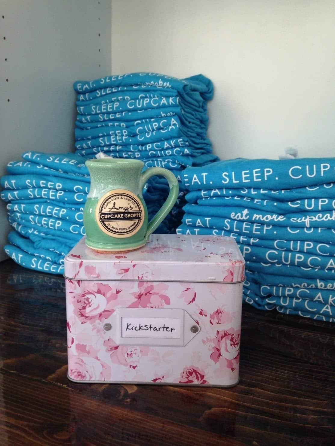 mug on kickstarter box