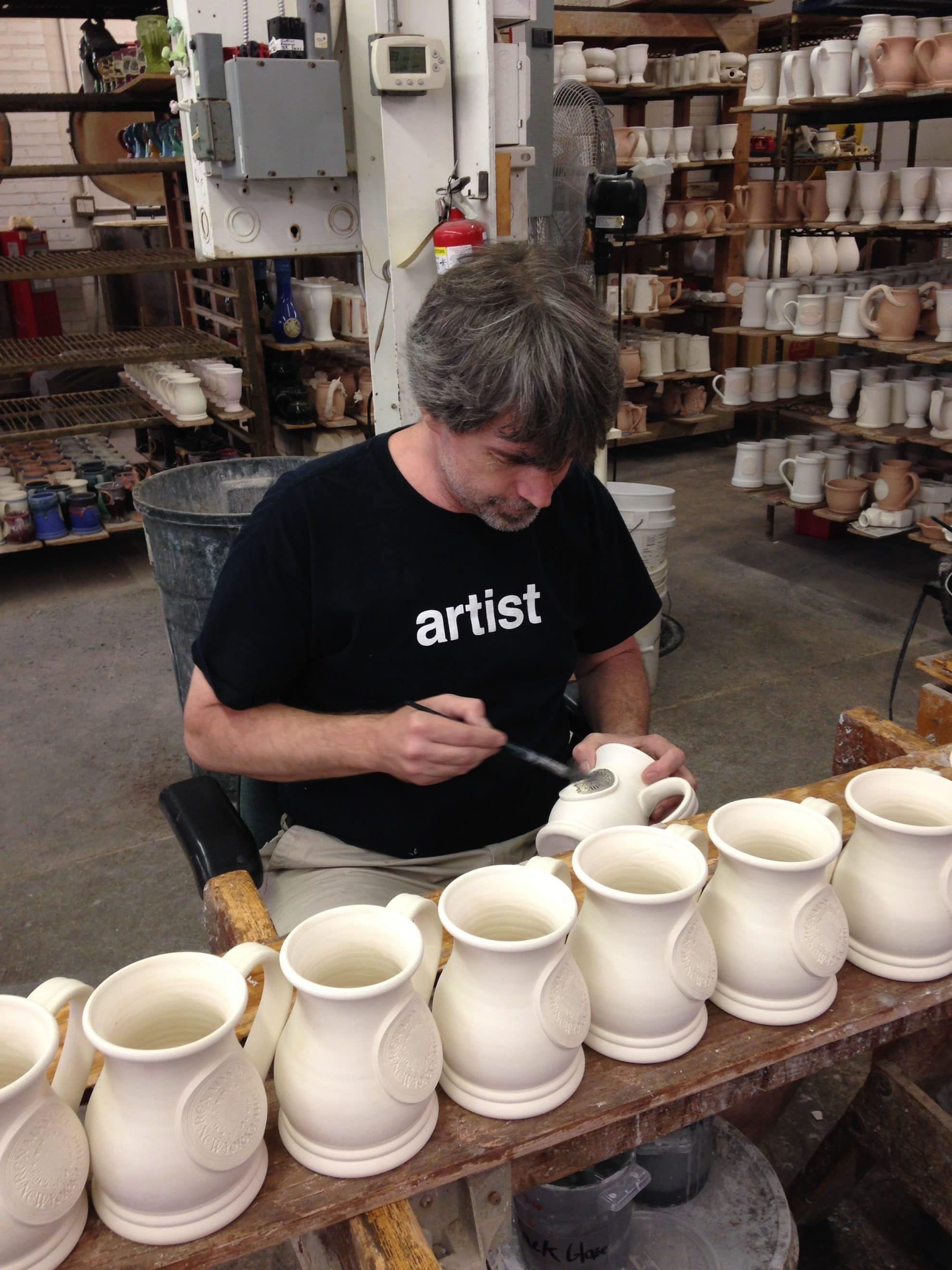 Wholesale Coffee Mugs Custom Mugs By Grey Fox Pottery