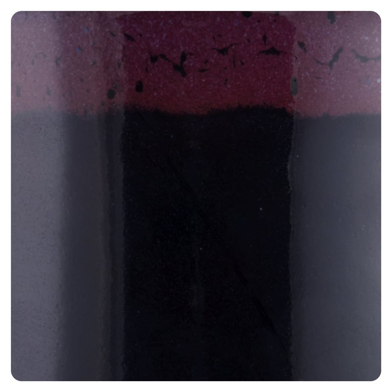 Black with Purple