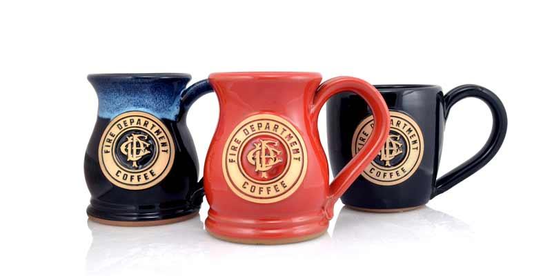 custom ceramic mugs tankards and steins grey fox pottery