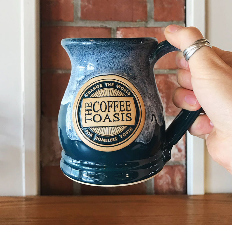 custom coffee mug for coffee shop